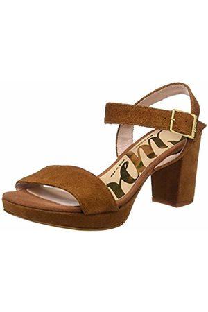 CUPLÉ Women's Sandalia Pala Serraje Setter Ankle Strap Sandals