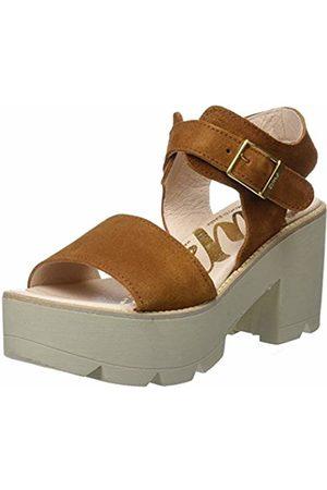 CUPLÉ Women's Sandalia Hebillas Serraje Setter Ankle Strap Sandals