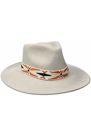 Ale by Alessandra Women's Luna Felt Fedora with Hand Embroidered Trim
