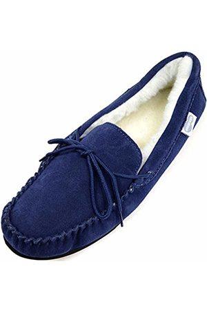 Snugrugs Men's Monty Wool Lined Moccasin Slippers