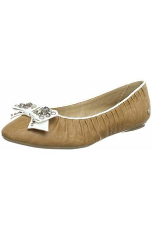Bruno Banani Womens VALERIE Ballet Flats Braun (CORK 685) Size: 40