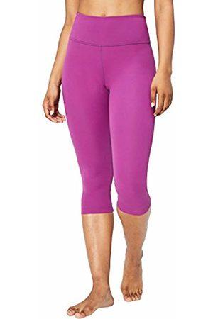 "Core 10 Women's High Waist Yoga Capri 21"" Leggings"