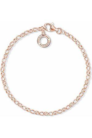 Thomas Sabo Women Silver Charm Bracelet - X0243-415-40-L18