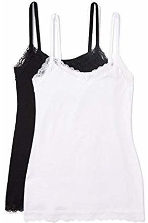 IRIS & LILLY Women's Body Natural Lace Trim Vest
