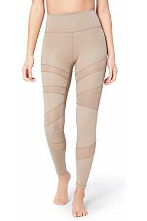 Core 10 Women's Icon Series - The Warrior Tight Leggings, Grey (Taupe)