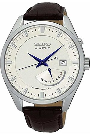 Seiko Men's Analogue Quartz Watch with Leather Strap - SRN071P1