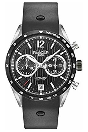 Roamer Mens Chronograph Quartz Watch with Silicone Strap 510902 41 54 05