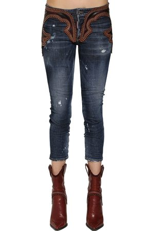 Dsquared2 COOL GIRL LEATHER & JEANS
