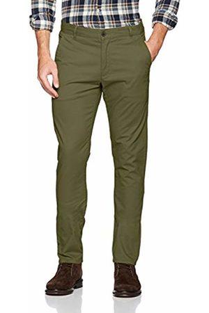 Farah Vintage Men's Elm Trousers, (Military )