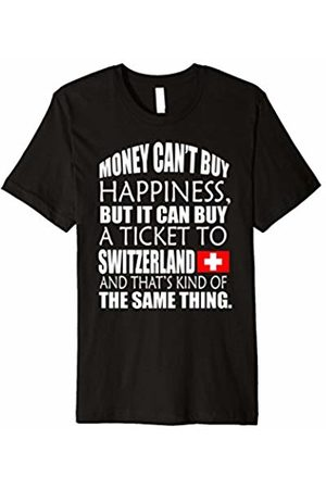 38897cd7d Storecastle Switzerland Collection Money Can't Buy Happiness Funny  Switzerland T-Shirt .