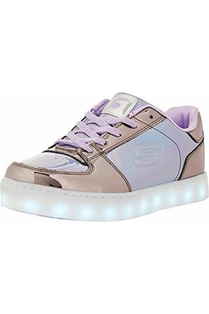 Skechers Girls' Energy Lights-Shiny Sneaks Trainers
