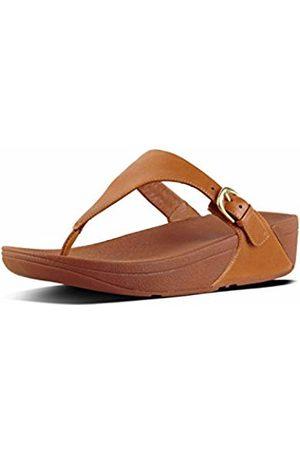 c29f341b5f9e FitFlop Women Skinny Toe Thong Leather Heels Sandals