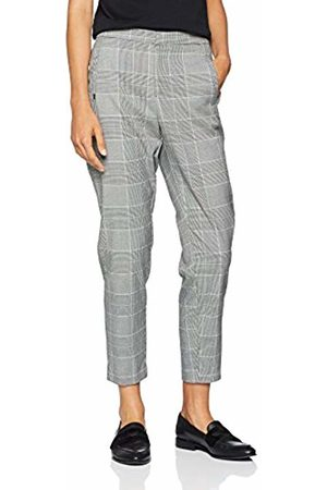 Only Women's Onlleslie Check Cigarette Pant PNT Trouser