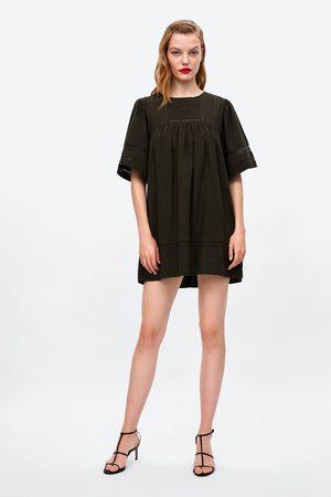 bfb4e1b9e2a Zara JUMPSUIT DRESS WITH BIB FRONT
