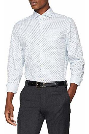 Selected Homme Men's Slhslimsel-Flow Ls AOP B Noos Formal Shirt