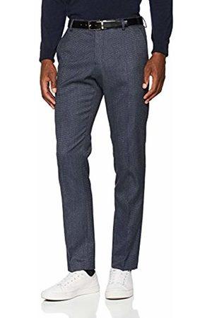 Selected Homme Men's Slhslim-Mylologan Navy Struc TRS B Noos Suit Trousers