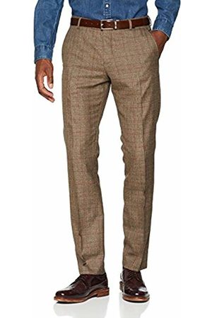 Selected Homme Men's Slhslim-Mylologan Check TRS B Noos Suit Trousers