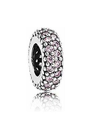 PANDORA Women's 925 Sterling Pink Zircon Bead
