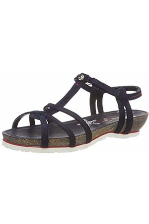 Panama Jack Women's Dori Navy Open Toe Sandals