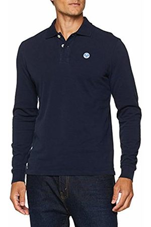 North Sails Men's L\S W\Logo Polo Shirt