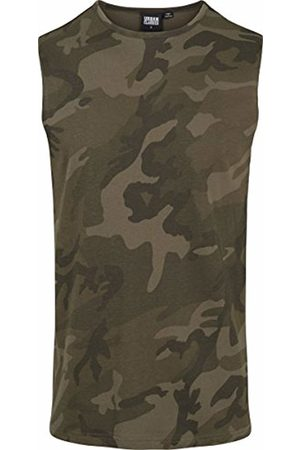 Urban classics Men's Camo Tanktop Sports Tank Top