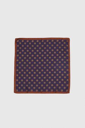 Zara Men Pocket Squares - EMBELLISHED POCKET SQUARE WITH TRIMS