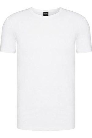HUGO BOSS Double pack of slim-fit T-shirts in stretch cotton