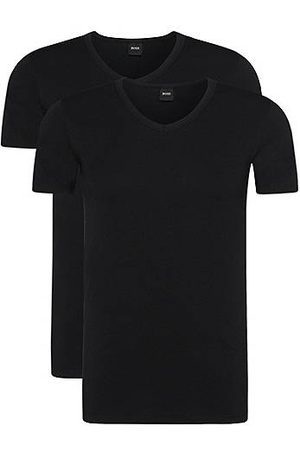 HUGO BOSS Two-pack of slim-fit T-shirts with V-neck