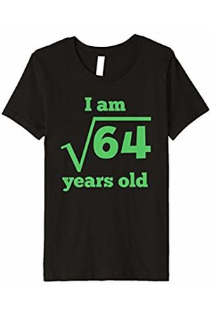 Youth Square Root 8 Years Old Funny 8th Birthday T Shirt For Kids