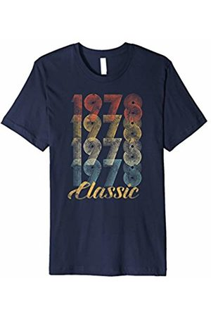 CuteComfy 40th Birthday Gift Vintage 1978 T-Shirt Men Women