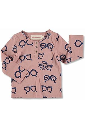 nadadelazos Baby Boys' Buttoned Glasses Long-Sleeve T-Shirt