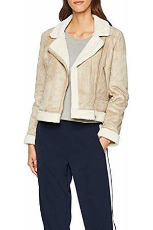 Great Plains Women's Faux Shearling Jacket, (Sand)