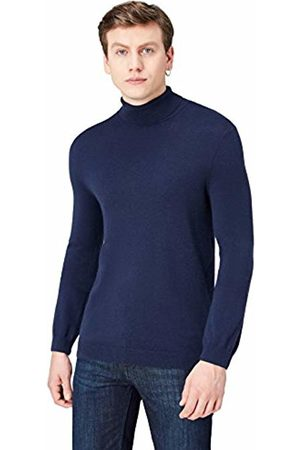 find. Men Jumpers & Sweaters - FIND Men's Jumper with Merino Wool Mix and Roll Neck