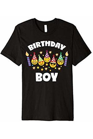 Emoji Birthday Tee For Boy Toddler Shirt