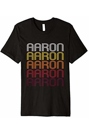 Ann Arbor Aaron Retro Wordmark Pattern - Vintage Style T-shirt