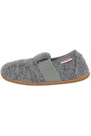 Giesswein Weidach, Boys' Unlined Low House Shoes, Gray - Grau (schiefer/017)