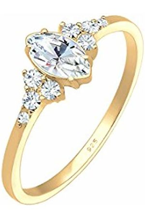 Elli Women Silver Solitaire Engagement Ring - 0605270418_52