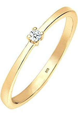 DIAMORE Women Silver Solitaire Engagement Ring - 0605980718_54