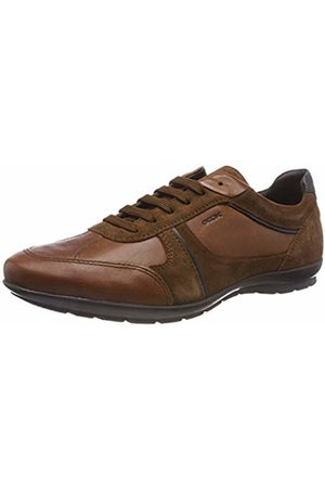 Geox Men's Uomo Symbol A Oxfords, (Browncotto C6003)
