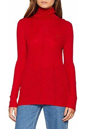 Tommy Hilfiger Women's Tjw Essential Sweater Turtleneck