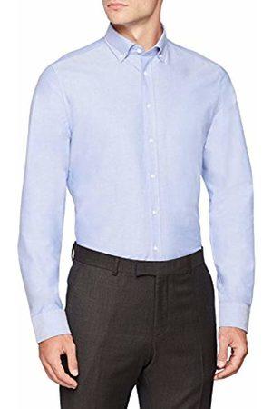 Seidensticker Men's Slim Langarm Mit Button-Down Kragen Soft Uni Smart Business Formal Shirt