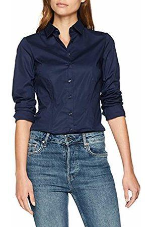 Seidensticker Women's Hemdbluse Langarm Slim Fit Uni Stretch Blouse