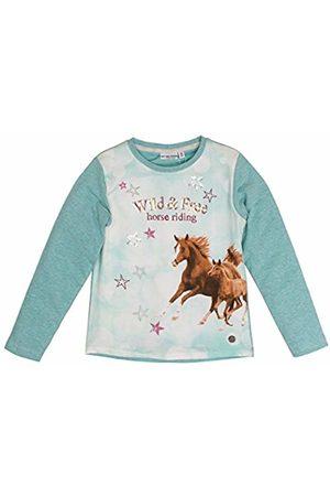 Salt & Pepper Salt and Pepper Girl's Horses I Photoprint Longsleeve T-Shirt