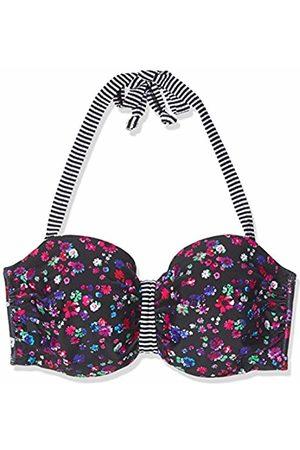 s.Oliver Women's Bügel-Bandeau Jpf-48 Bikini Top