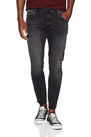 Mavi Men's Leo Cropped Skinny Jeans, (Deep 26747)