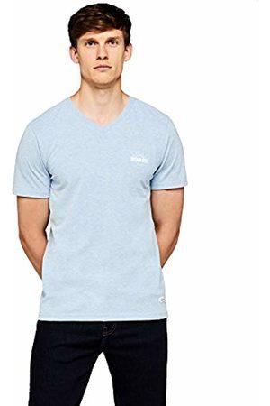HIKARO Men's Logo V-Neck T-Shirt