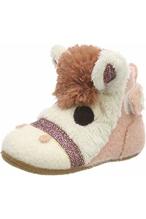 Living Kitzbühel Baby Girls' Babyklett. Pferd Slippers