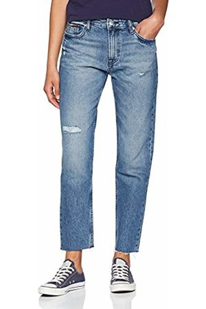 Tommy Hilfiger Women's High Rise Izzy Crop Ombrg Slim Jeans
