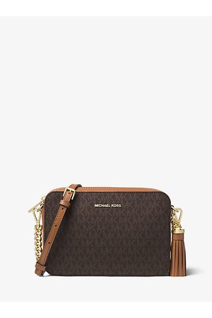 Michael Kors Ginny Medium Logo Crossbody Bag