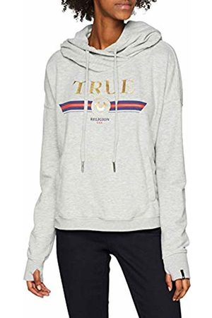 True Religion Women's Cropped True Hoodie